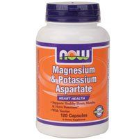 Now Foods Magnesium  Potassium Aspartate w Taurine 120 caps  MultiPack *** Learn more by visiting the image link.