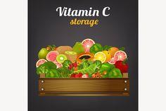 Vitamin C Foods #package #warehouse