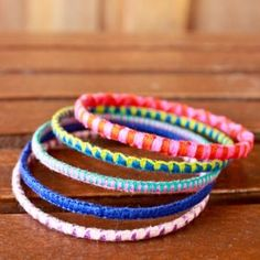 How to make wrapped bangles