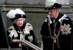 The Queen and Prince Phillip have been staying in Scotland this week, attending various official engagements..July,  2014