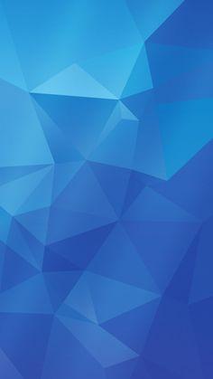 Samsung Galaxy S5 wallpaper   BLUE version by Shimmi1 on deviantART