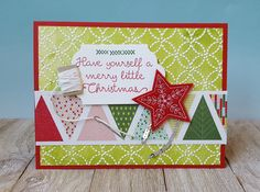 Stampin' Up! Christmas Quilt bundle with Quilt Builder Framelits, Quilt Top embossing folder, Quilted Christmas designer series paper, Stitched Felt Embellishments - inked embossing folder video tutorial - Sarah Fleming - Prepare to Dye Papercrafts