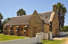 The small historical building of St Thomas Anglican church in Stanford seems to be a museum, but on closer inspection, is still bringing glory to God as an operational church. Western Cape province, SA. Photo by #PhotoJdB