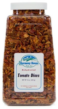 >>> Startling big discounts available here: Harmony House Foods, Dried Tomatoes, Diced, 8 Ounce Quart Size Jar at Quick dinner ideas.
