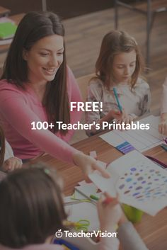 Teachers' freebies! Create a better learning experience for students, parents and yourself with the help of our printable worksheet