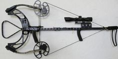 Hickory Creek Vertical In Line Crossbow, a Bullpup Vertical Crossbow! Weighing just 5 pounds 6 ounces it has a draw weight of 75 pounds and delivers over 300 feet per second utilizing full length arrow. To see more: https://www.youtube.com/watch?v=Gy8kMap1qLk