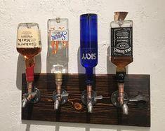 Items similar to Handmade Wooden alcohol dispenser / liquor dispenser / whiskey dispenser / mens gift, anniversary gifts / wedding gifts / corporate gifts on Etsy Whiskey Dispenser, Alcohol Dispenser, Beverage Dispenser, Handmade Copper, Handmade Wooden, Whisky Spender, Bar Deco, Copper Taps, E Pipe