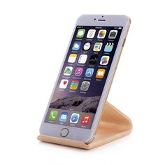 Amazon.com: Samdi New Wooden Cell Phone Stand or Cell Phone Holder,a Good Cell Phone Decorations,for All Kinds of Brand Cell Phone Such As Iphone Samsung Nokia Htc Huawei Sony Mi Moto and so on (White(birch Color)): Cell Phones & Accessories