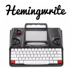 Yeni nesil daktilo Hemingwrite :: E-ink ekrana yaz, bulutta depola!
