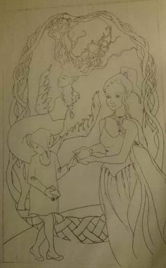 #WIP #TheWorld #SoMa #78Tarot #SeventyEightTarot #project #sketch #tarot #card #concept #sketch #sketches #brainstorming #women #linework #mermaid #earth https://www.facebook.com/smaris7?fref=ts