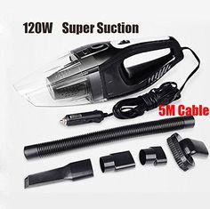 Deals For Handheld Car Vacuum Cleaner 12V 120W (Black) Reviews