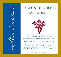 Marietta Cellars Old Vine Red Lot Number 59 (bought this at Whole Foods)