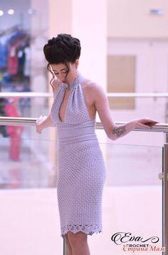 Вечернее платье крючком - Вязание - Страна Мам
