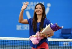 Na Li, homenagem tênis (Foto: AFP)