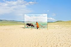 Haunting Exhibition Illustrates Mongolia's Disappearing Landscape (PHOTOS)