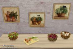 Декор для The Sims 4 от Granny Zaza - 17 Марта 2015 - The Sims Models