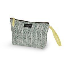 Aspegren-toiletbag-herringbone-petrol Canvas bag www. Herringbone, Diaper Bag, Canvas, Makeup, Bags, Design, Tela, Make Up, Handbags