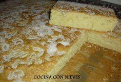 Cocina Con Nieves: Coca de Piñones (muy fácil)