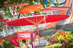 Umbrelladecorations#Thaitheme#Chaimaiumbrella#indianwedding#wizkim