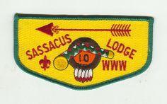 MINT Merged Older Boy Scout OA Lodge 10 (Sassacus) Flap