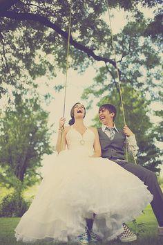 Ali & Emily's fairytale wedding in the woods   Offbeat Bride