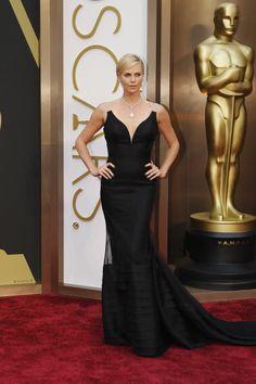 Women's Oscar Fashion   Academy Awards – Oscars 2014 - Charlize Theron
