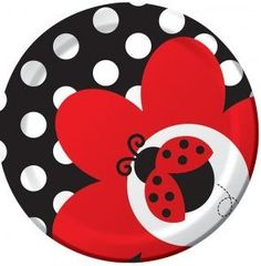 off Fancy Ladybug Birthday Party Supplies tableware! Shop for Fancy Ladybug Birthday Party Supplies, ladybug birthday decorations, invitations and more. Party Plates, Party Tableware, Cake Plates, Dessert Plates, Appetizer Dessert, Dinner Plates, Pottery Painting, Ceramic Painting, Painted Pottery