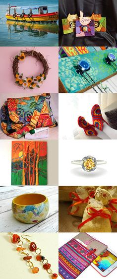 Spring into Summer  by Isobel Morrell on Etsy--Pinned with TreasuryPin.com
