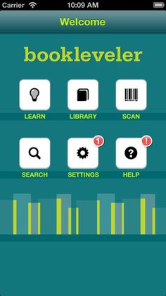 Book Leveler app. Find appropriately leveled content for readers.