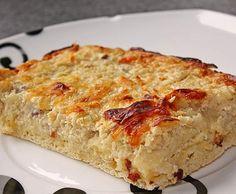 Rezept Schneller Zwiebelkuchen von Danalein - Rezept der Kategorie Backen herzhaft
