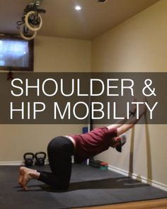 Try this 20 minute hip and shoulder mobility workout routine shown here by Coach Dan Jones. Perfect addition to any of our conditioning or strength workouts. Hip Mobility Exercises, Rotator Cuff Exercises, Flexibility Workout, Back Exercises, Strength Workout, Oblique Exercises, Hamstring Exercises, Strength And Conditioning Workouts, Isometric Exercises