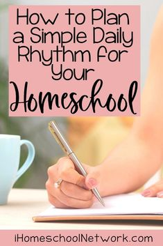 How can we feel both prepared and flexible as homeschoolers? The answer is with a daily rhythm. Check out the 3 steps to bring this to your family so that you and your children feel better and you can homeschool with more ease. List Of Activities, Hands On Activities, Learning Activities, Curriculum Planning, Homeschool Curriculum, Homeschooling, Book Organization, Classroom Organization, Teaching Methods