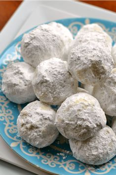 These Buttery Pecan Snowball Cookies are easy, quick to fix, delicious, and they freeze well. Cookie Desserts, Holiday Baking, Christmas Desserts, Christmas Baking, Just Desserts, Cookie Recipes, Delicious Desserts, Dessert Recipes, Christmas Cookies