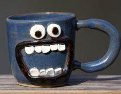 mug cup pinch pot