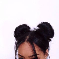 Latest long time hairstyles for every girl Every young girl looks after her hair very well Messy Hairstyles, Pretty Hairstyles, Black Hairstyles, Two Buns Hairstyle, Stylish Hairstyles, Spring Hairstyles, Natural Hairstyles, Good Hair Day, About Hair
