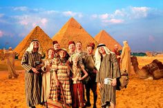 The Weasley's in Egypt