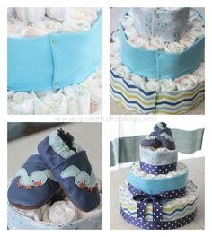 Darling Diaper Cake Tutorial #evitebabytrends #paid