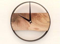 Modern Unique Wooden Clock