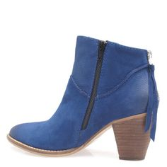 Miss Sofie cobalt ankle boot