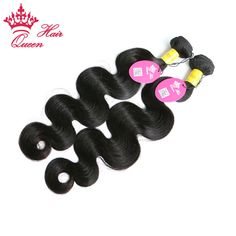 Queen Hair Products Peruvian Virgin Hair Body Wave 100% Unprocessed Human Hair Weft DHL Shipping Free Grade 7A 2pcs/lot