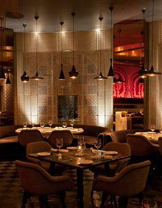 Kainoosh Keya restaurant in New Delhi, India, designed by Lotus Design
