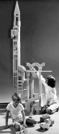 Julian Winston - blocks for Creative Playthings catalog 1968