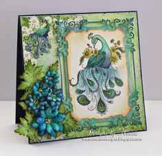 97 best peacock cards images on pinterest peacock handmade cards