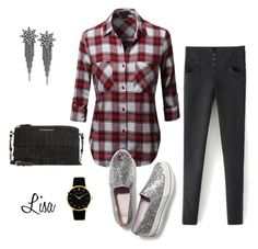 """""""Sugar & Spice"""" by coolmommy44 ❤ liked on Polyvore featuring Keds, Burberry and Larsson & Jennings"""
