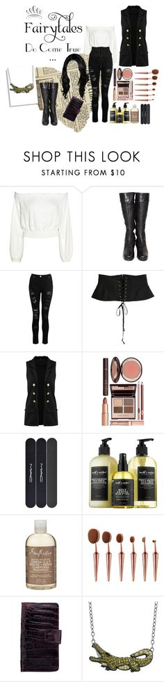 """""""Captain Hook Inspired"""" by foreverdecadent ❤ liked on Polyvore featuring WALL, Chanel, Dorothy Perkins, Boohoo, Charlotte Tilbury, MAC Cosmetics, Therapy, Anne Sisteron, Animal Planet and peterpan"""