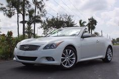 Nice Awesome 2014 Infiniti Q60 Certified Warranty, Navigation and more! 2014 INFINITI Q60 Convertible, Moonlight White with 25,968 Mi 2017 2018 Check more at http://24cars.cf/my-desires/awesome-2014-infiniti-q60-certified-warranty-navigation-and-more-2014-infiniti-q60-convertible-moonlight-white-with-25968-mi-2017-2018/