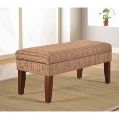 Decorative Geometric Multicolor Storage Bench - Overstock™ Shopping - Great Deals on HomePop Benches
