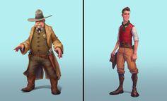 ArtStation - Vadim Bahryi - Собрал тут подборочку персонажей из нашей игры от разных художников Fictional Characters, Fantasy Characters