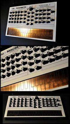 Macbeth, Nexus 1 touch plate analog synthesizer.