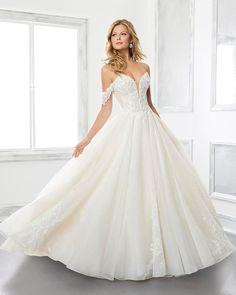 A-Line Wedding Dresses 2020/2021 Collections Overview ❤ a line wedding dresses sweetheart neckline strapless off the shoulder mori lee #weddingforward #wedding #bride